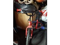 Spiderman bicycle for sale