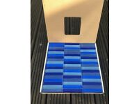 Gemini glass mosaic tiles in Mediterranean blue - priced to sell