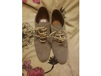Ladies size 8 fred perry shoes brand new