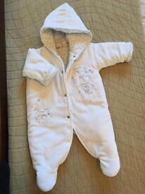 Dandelion Snowsuit 0-3 months