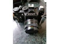 Vintage Zenit USSR 35mm Film Camera