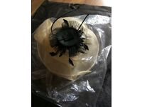 Black Wedding Fascinator