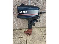 Yamaha 4hp outboard boat motor engine