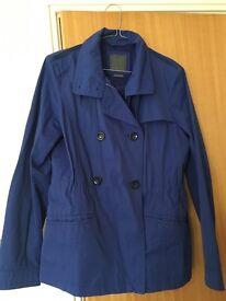 Geox blue jacket size 8
