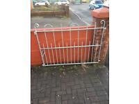 Gates. Pair of driveway gates
