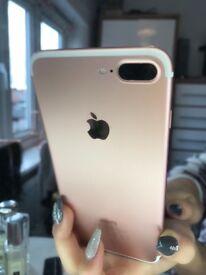 Iphone 7 plus white/rose gold