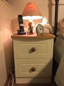 One only 2 draw Bed side cabinet