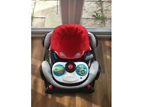My first car baby walker, suitable from four months