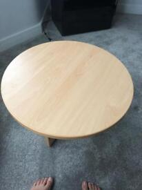 Beech coffee/meeting room/ reception table