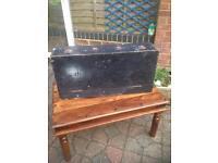 Carpenters- Vintage wooden tool chest- £10 collect Fareham po15