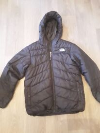 Boys north face coat large