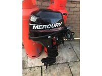 2015 Mercury Mariner 9.9 HP outboard engine 4 stroke long shaft electric start