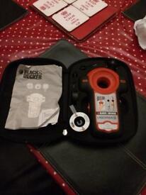Black & Decker Laser plus level & pipe detector.