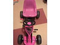 Hello Kitty Pedal Go Kart