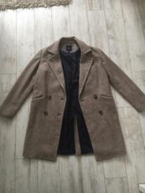 Beautiful Next Wool Coat in size UK 12