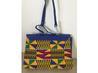 Colourful Bright ladies shopping bag by Lee Read Designs