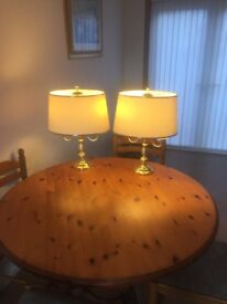 Pair Really classy Table lamps high quality