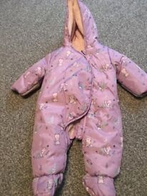 Baby moonsuit size 3-6 months only worn once