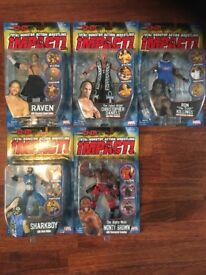 TNA Impact! Wrestling Figures Toybiz & Jakks New Boxed MOC (Individually priced in listing)