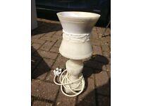 FREE - Limestone lamp