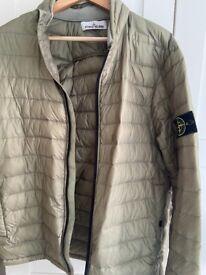 Authentic stone island khaki jacket