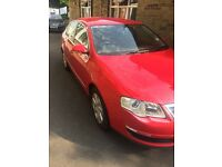 VW Passat 2.0 TDI 2008 Red Diesel auto