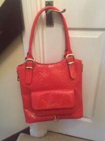 Ted Baker Coral Patent Handbag