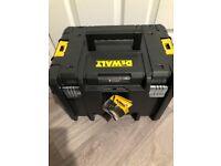 Brand new dewalt tstak storage tool box