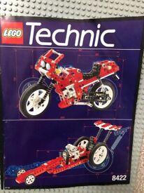 Lego 8422 - Circuit Shock Racer TECHNIC