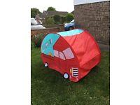 Pop up fire engine tent
