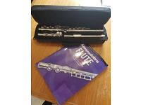 Flute - Carmichael make in great condition with carry case and book