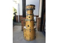 Joblot Drumkit with full hardware, cases and cymbals (ON HOLD)