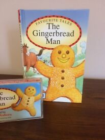 The Gingerbread Man. A Ladybird Publication. A Children's Favourite Story with Audio Cassette