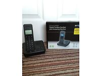 BT Home phone set with answering machine