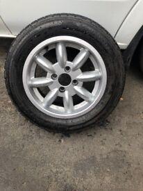 Mini lite wheels and tyers