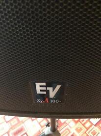 Pair of EV active speakers