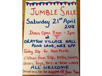 Jumble Sale in Drayton