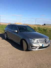 Mercedes c 220 estate blue efficiency sport