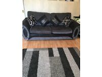 3 Seater Sofa and Armchair (DFS)