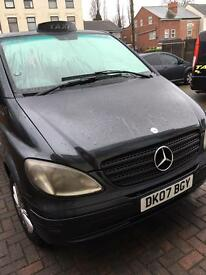 Mercedes Vito TAXI 2.1litre Diesel