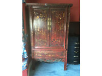 Restored antique Chinese cabinet