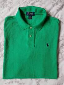 Boys Ralph Lauren polo shirt. Age 14/16