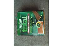 2x Cuprinol Total Decking Treatment 'Golden Cedar' 2.5L