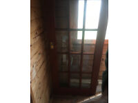 15 pane internal stained doors