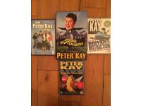 Peter Kay DVDs and book