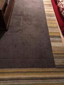 Olive colour large rug
