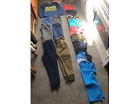 Huge boys bundle tracksuit bottoms t shirts jumper hype H&M quicksilver next age 9-10