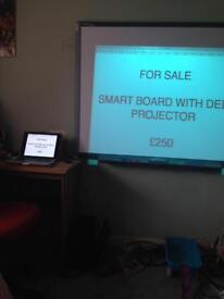 Dell projector and smart board