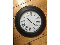 Clock 48cm roman numerals £5