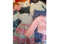18-24months bundle, 6 dresses 1 playsuit 1 trousers 1 cardigan
